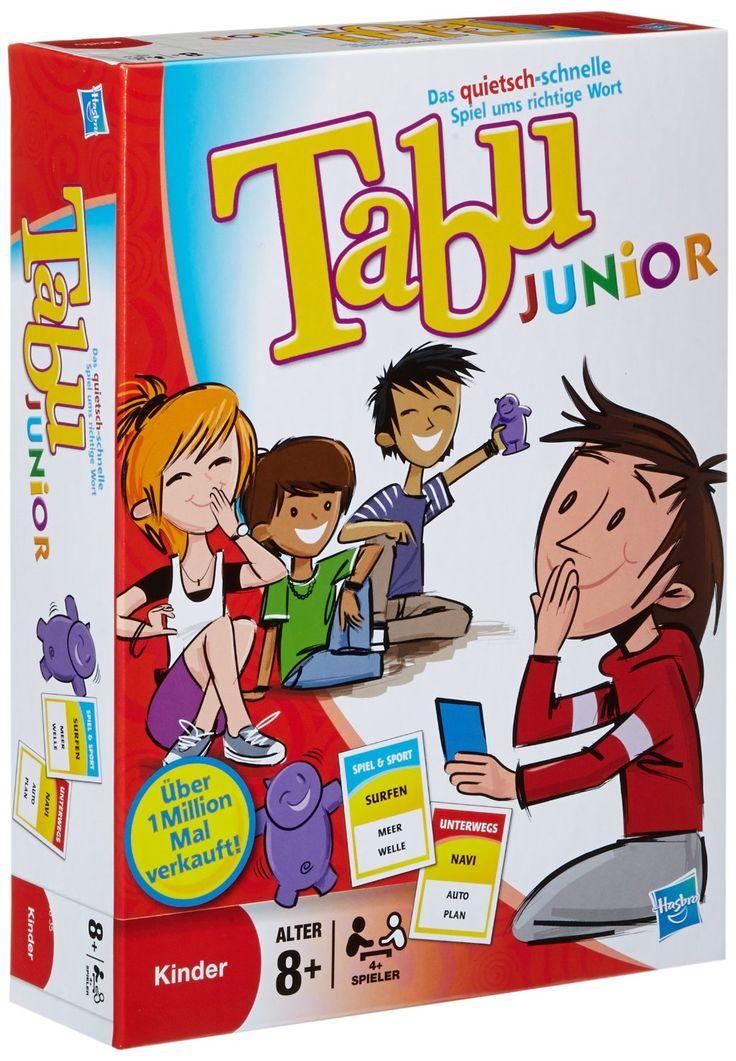 Hasbro Spiele 14334100 - Tabu Junior, Partyspiel: Amazon.de: Spielzeug