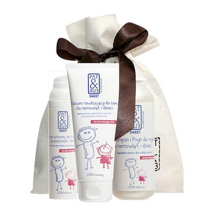 #Kosmetyki_naturalne PAT & RUB #SWEET zostały opracowane z myślą o całej Rodzinie. Są odpowiednie do pielęgnacji skóry niemowląt od 1. dnia życia, #dzieci, młodzieży (zwłaszcza skóry z trądzikiem) oraz dorosłych wrażliwców. Doskonale radzą sobie z przesuszeniem, podrażnieniem, zaczerwienieniem. Chronią i odbudowuje warstwę lipidową skóry.