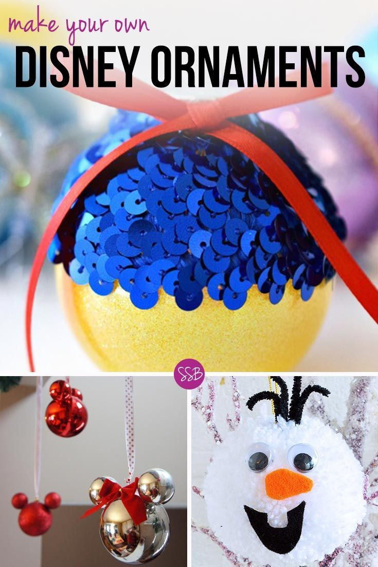 Homemade Disney Crafts 15 Fabulous Diy Disney Inspired Ornaments To Bring Some Magic To Your Christmas Tree Disney Christmas Ornaments Disney Christmas Tree Christmas Ornaments