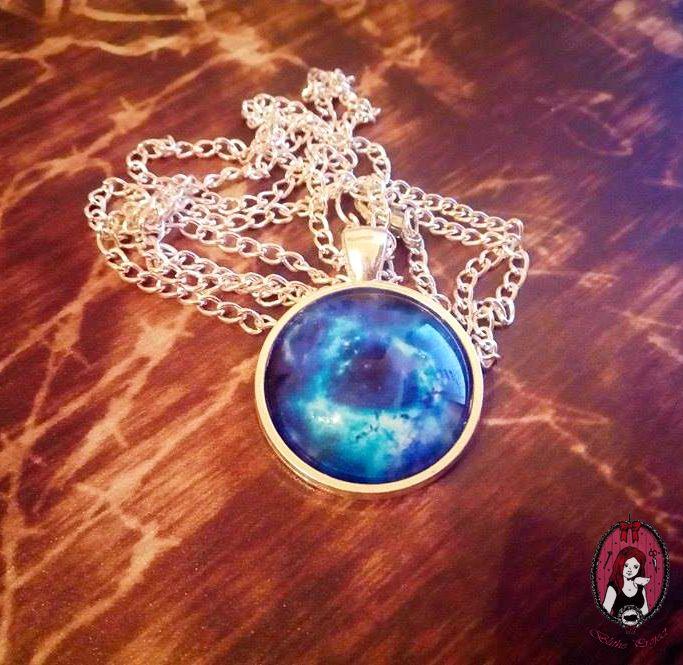 Blue Galactical Pendant  My website: http://blitheproject.hu/ Facebook: https://www.facebook.com/blitheproject