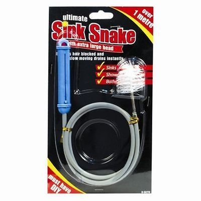 Details about Drain Cleaner Spring Tool Long Sink Snake