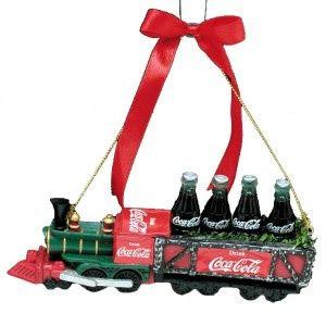 Coca-Cola Train Ornament - Google+
