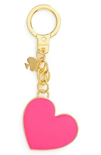 kate spade new york 'things we love' heart key ring available at #Nordstrom