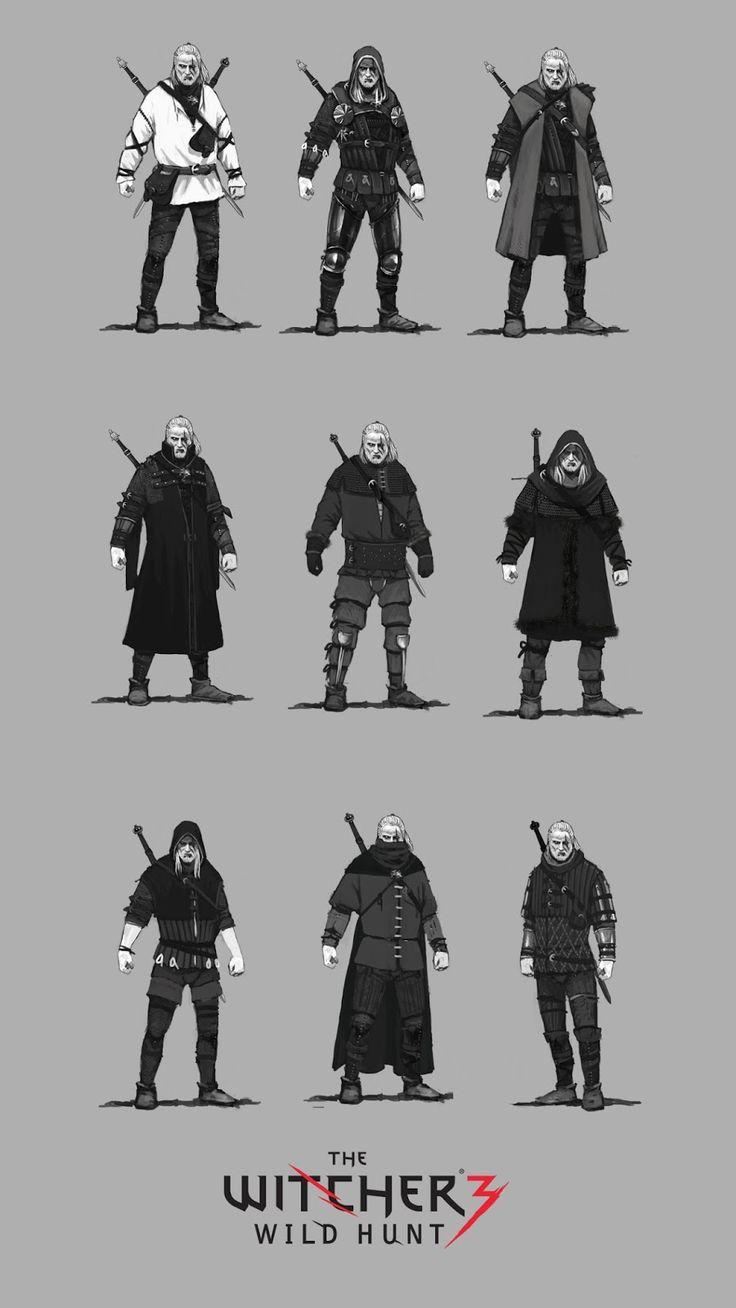 Jan Marek Geralt armor concepts 3 by Scratcherpen.deviantart.com on @DeviantArt