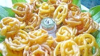 Jalebi Recipe - Indian Sweet Recipe, via YouTube.