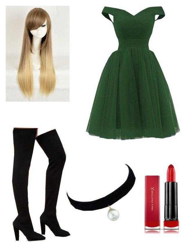 """Dinner Party Outfit #1"" by ciciflores on Polyvore featuring Bamboo, Max Factor and WithChic"