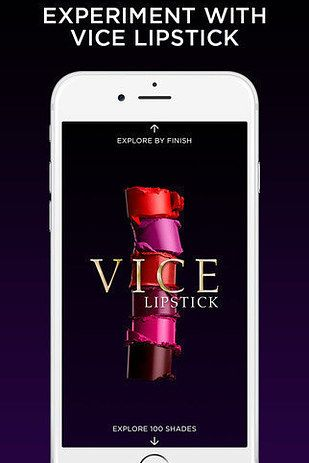 Now, Urban Decay is throwing that problem in the damn dumpster with the latest in makeup technology: You can try on all 100 (!!!) shades of their new lipstick line, Vice, via a new free app.   Guys, You Can Try Out All The New Urban Decay Lipsticks On Your Phone