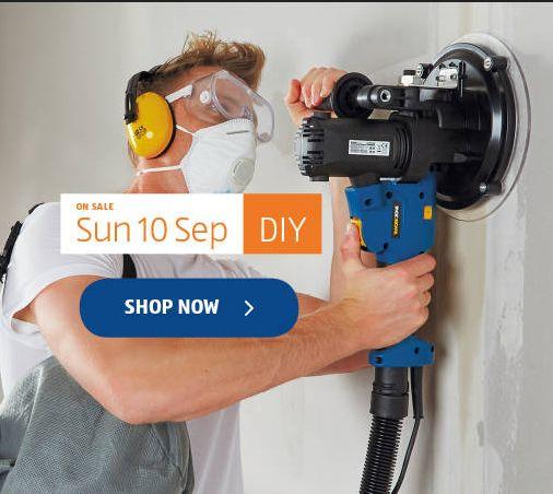 Aldi Special Buys 10th - 16th September 2017. DIY - http://www.olcatalogue.co.uk/aldi/aldi-special-buy.html