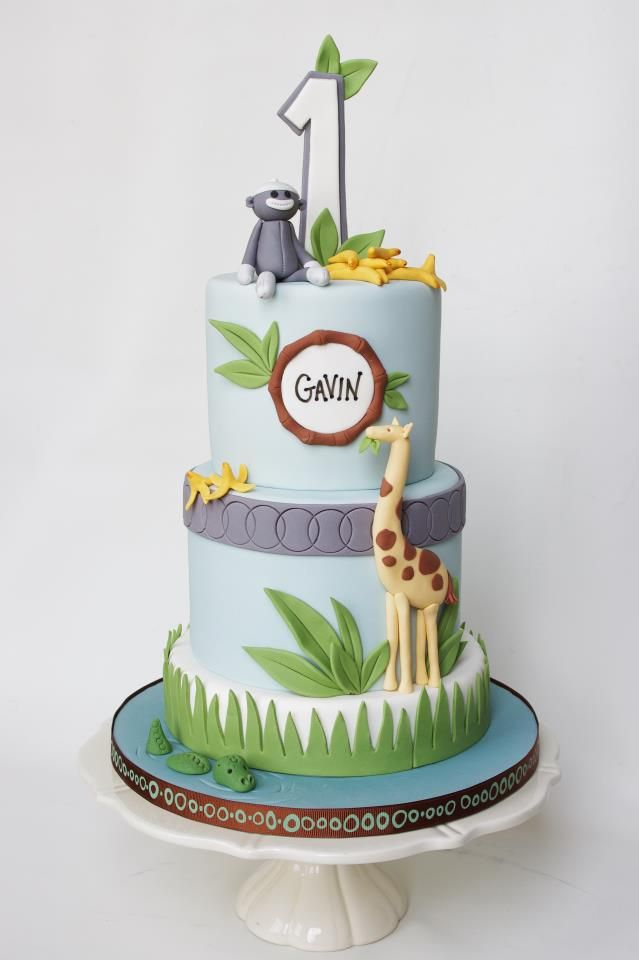 Jungle Theme Cake