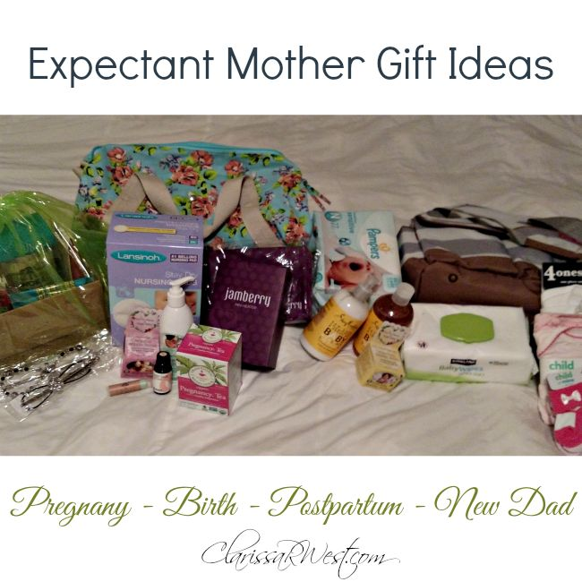 Expectant Mother Gift Ideas and New Daddy Gift Pack, too!
