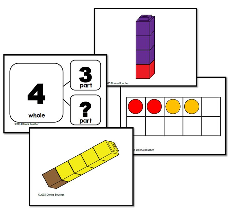 I've been working with my firsties on composing and decomposing the numbers 3, 4, and 5. Last week, I used number bond cards and manipulatives–linking cubes and ten-frames–to introduce the idea of number bonds. Read more about that here. Over the weekend, I finished up a set of cards showing pictorial representations for numbers bonds, …