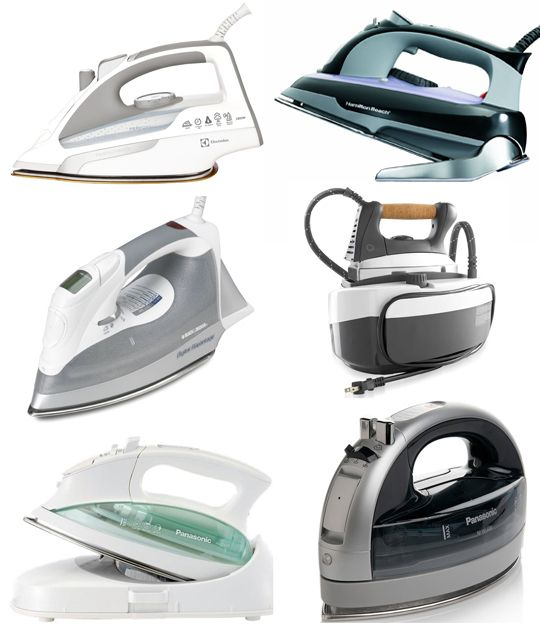 Best Steam Irons 2013 Apartment Therapy's Annual Guide
