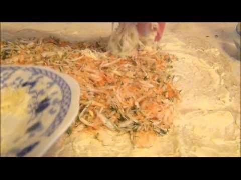 Капустный пирог из лаваша. Готовим вместе.