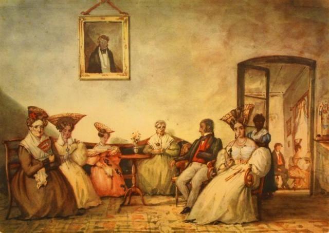 Tertulia porteña, 1831