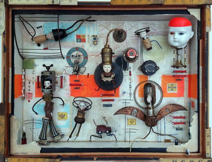 Assemblage: Mechanica by bugatha1