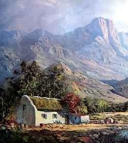 Andre Grobler born in South Africa, 1938