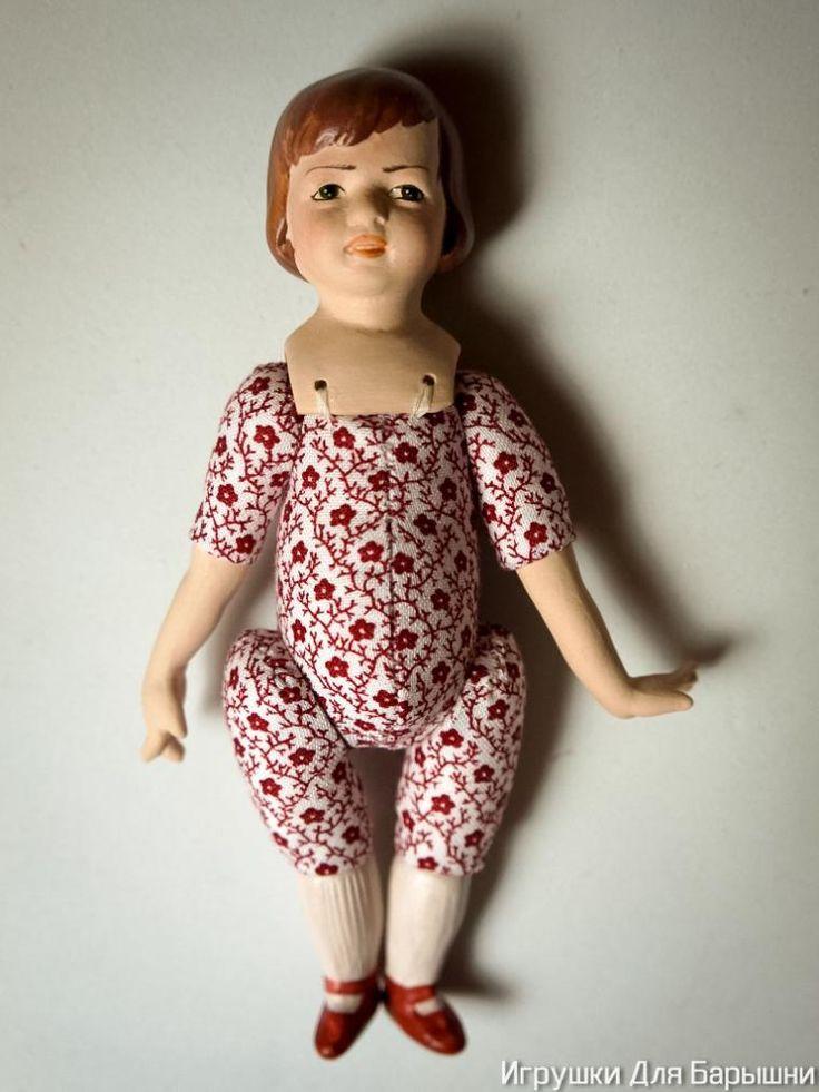 Как собрать фарфоровую куколку с текстильным телом - Ярмарка Мастеров - ручная работа, handmade