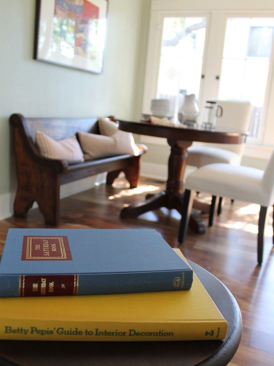 Breakfast Nook Banquette with Vintage Deacon's Bench (Church Pew)