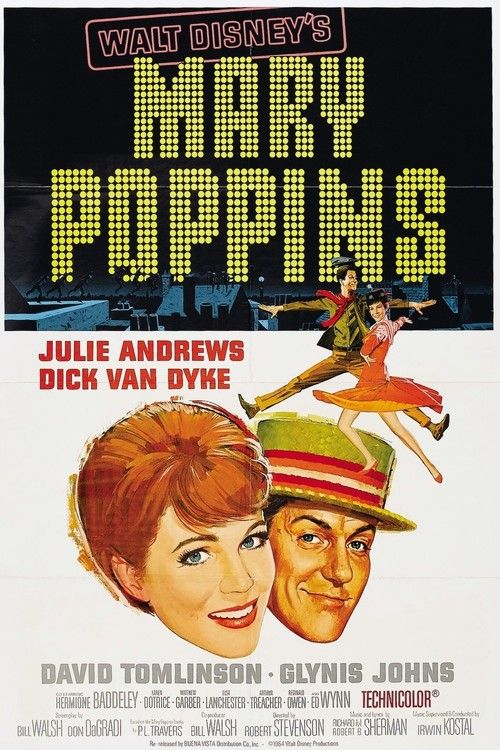 Watch Mary Poppins (1964) Full Movie Online Free