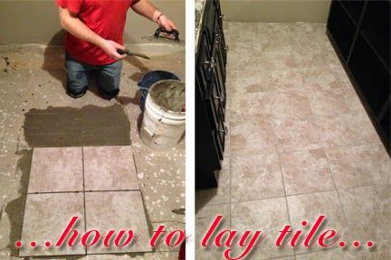 Learn to lay tile and save some major money!