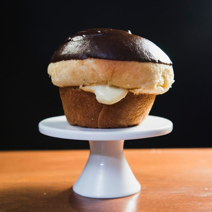 how to make boston cream donuts
