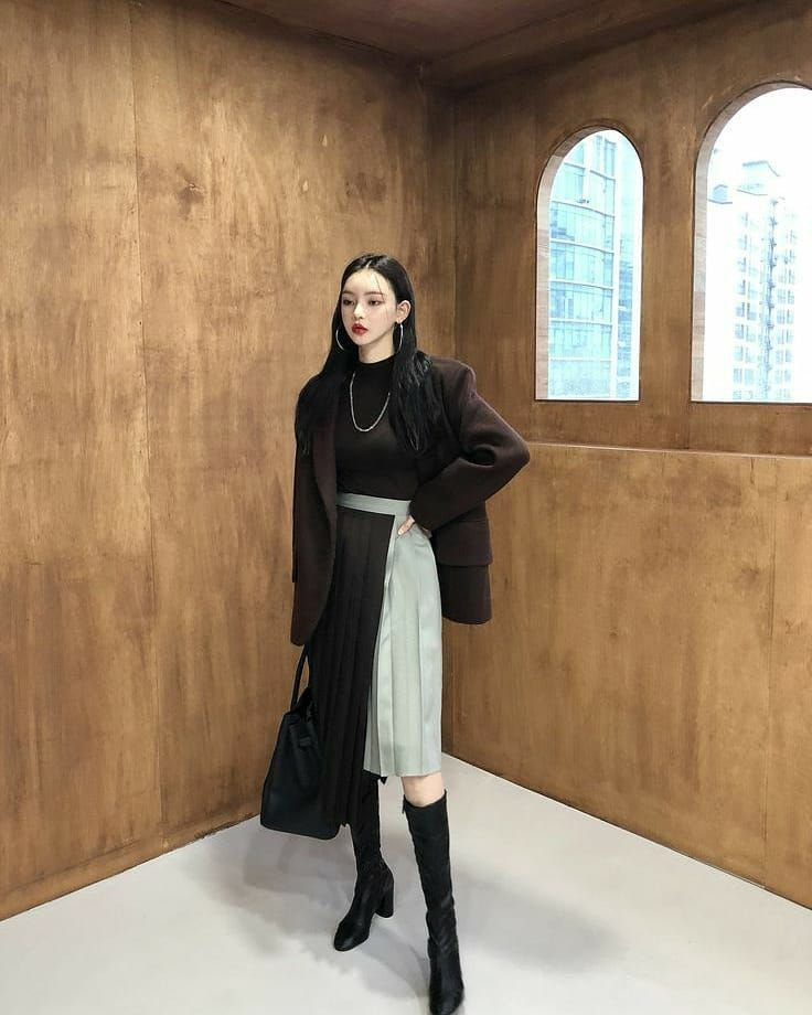 Woman Trendy Outfits Idea Stylish Spring 2021 Gentle Korea Fashion Tiktok Highschool Trendy Outfits Korean Fashion Trendy Clothes For Women