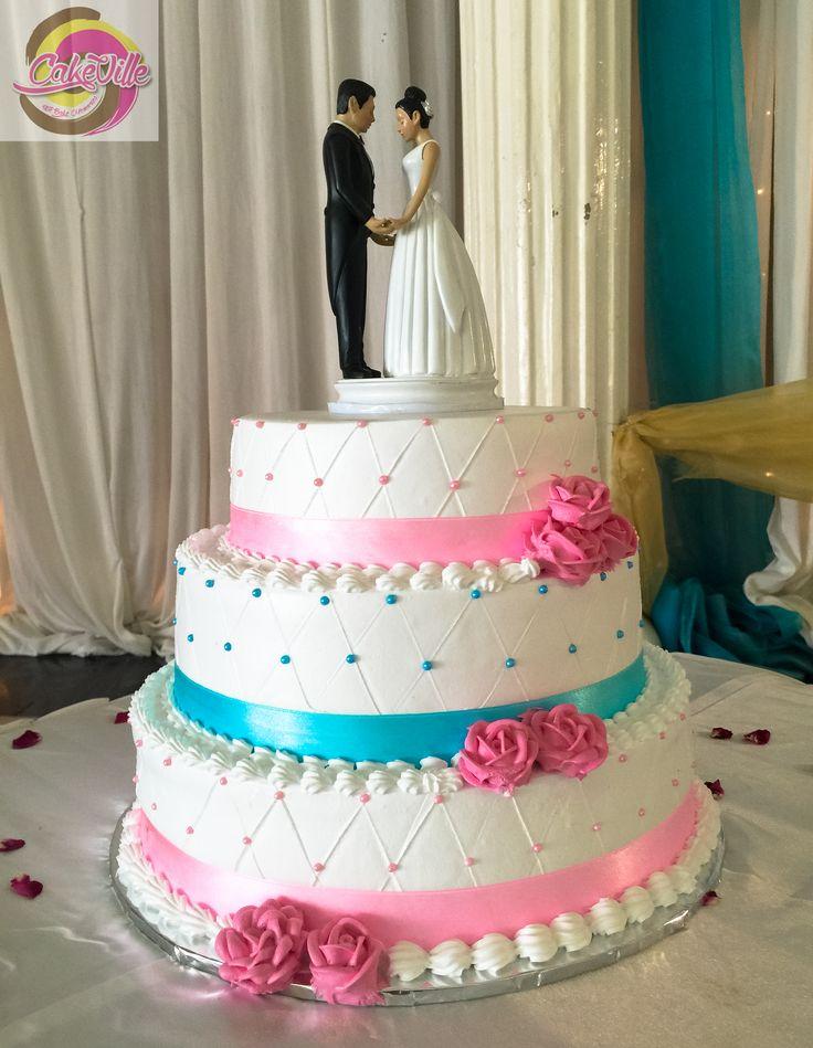Cake Ville Wedding Cakes, We Deliver & Set Up :-)