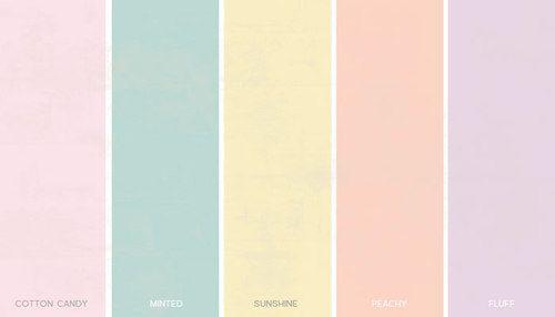Coton Candy - Quarto, Minted - Cozinha , Sunshine - Banheiro,Peachy- Corredor
