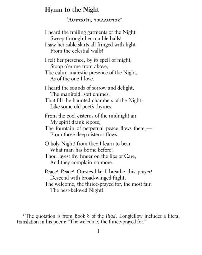 keats and longfellow analysis All of henry wadsworth longfellow poems henry wadsworth longfellow poetry collection from famous poets and poems.