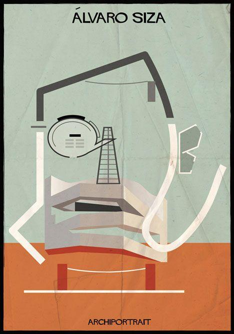Alvaro Siza Archiportrait by Federico Babina