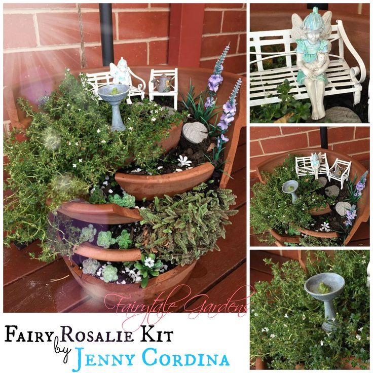 A Broken Pot Using Our Lovely Fairy Rosalie Kit By Jenny Cordina
