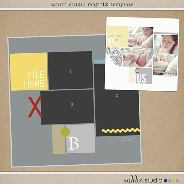 32 best free digital scrapbooking templates images on pinterest