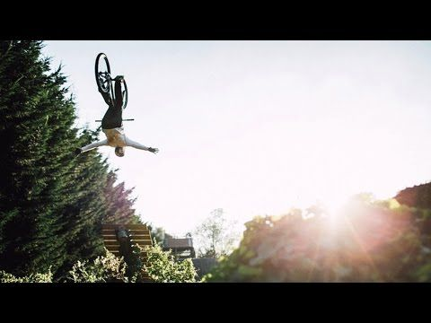 Matt Jones Throws Huge Tricks in Slopestyle MTB Training Session | Sound of Speed - YouTube