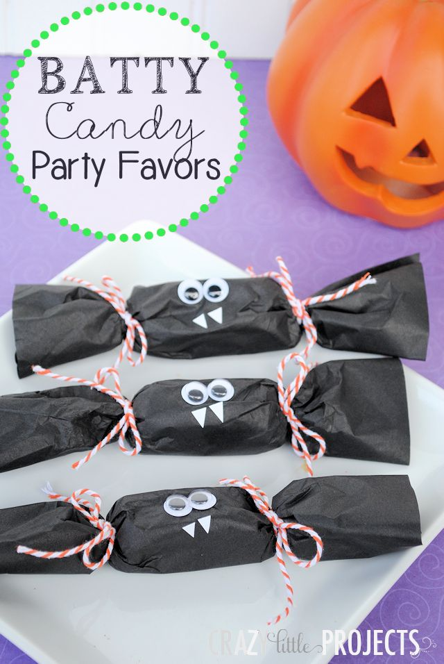 Cute Candy Favors.