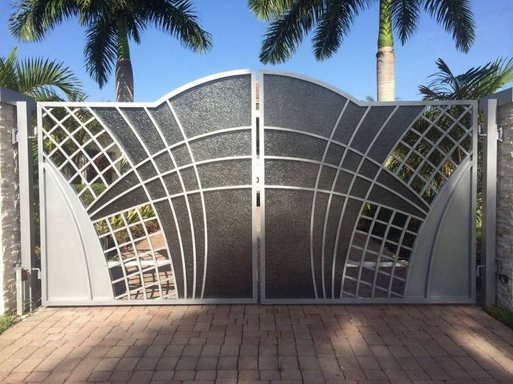 60 Amazing Modern Home Gates Design Ideas Part 46