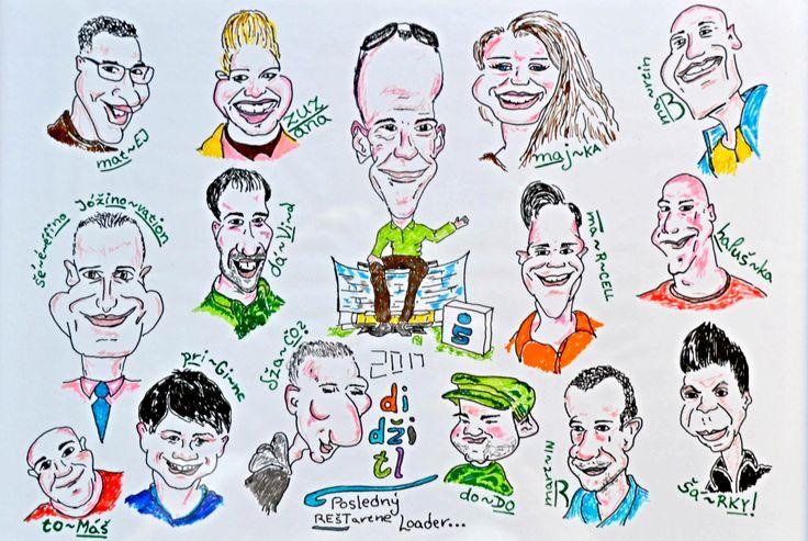 team caricature , 2017