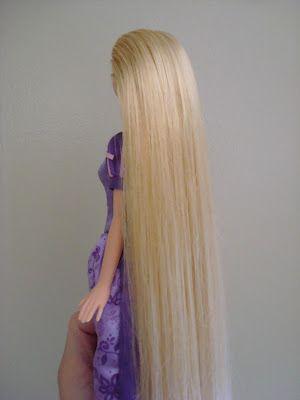 making it feel like home: Detangling Doll's Hair