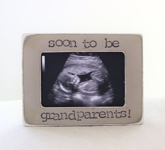 17 best my shop pregnancy expecting images on pinterest pregnancy announcement for grandparents parents personalized picture frame soon to be grandparents negle Image collections