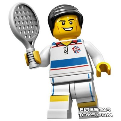 LEGO Team GB Olympic Minifigure - Tactical Tennis Player