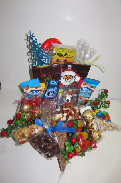 Our Chocolate and Nuts Basket!