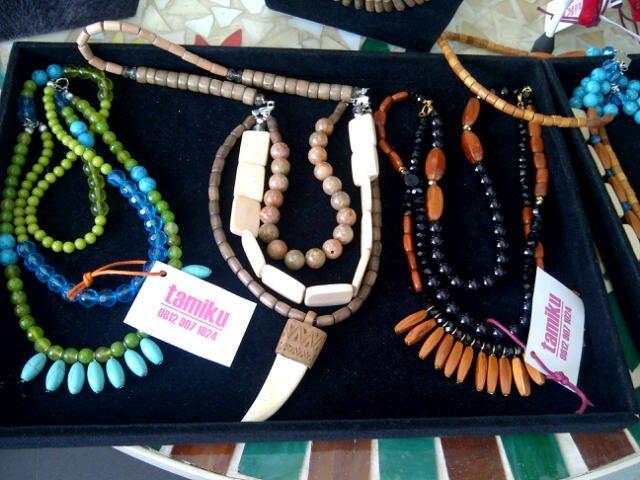 Tamiku necklaces