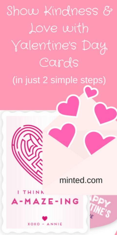 Kindness & Love with Valentine's Day Cards