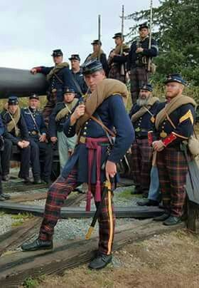 79th New York Militia - 1861 - American Civil War. The unit started as a Scottish American fraternity. The 79th, without knowing it, set themselves up to take part in nearly every major engagement of the civil war and become one of the most known and traveled regiments in the Union Army.