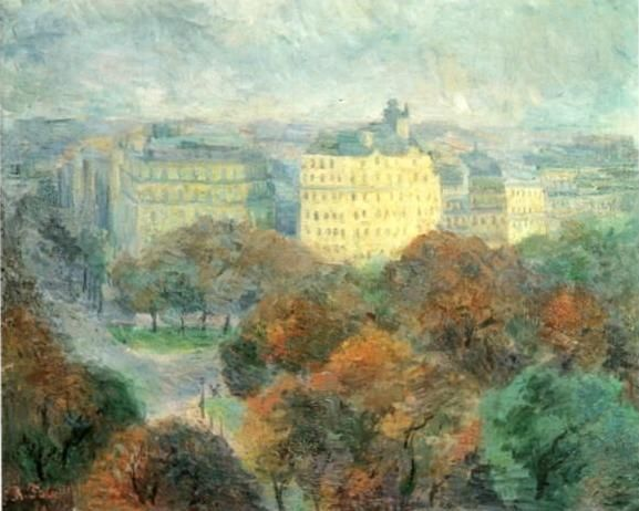 Autumn Landscape, Paris by Robert Falk