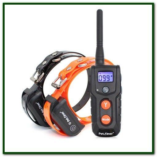 Remote Dog Training Collars Mockins 100 Rainproof Rechargeable