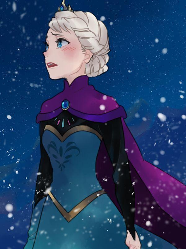The Artistic Skill is AMAZING!!!!! XD Gorgeous Fan Art!!! #Frozen <3