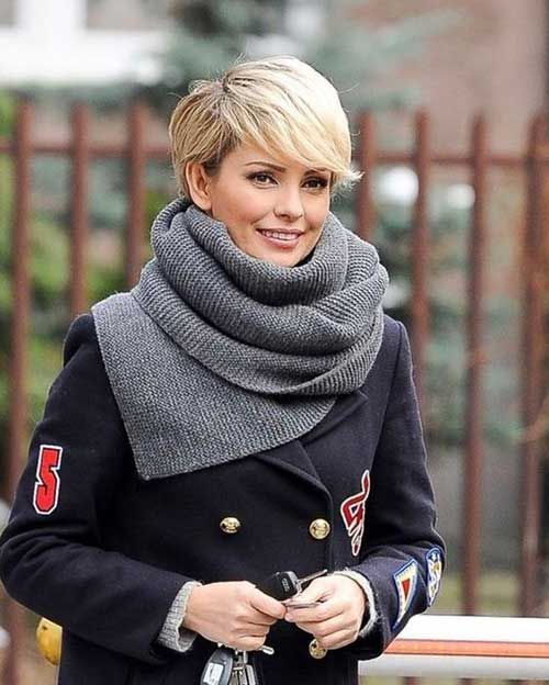 8.Long Pixie Hairstyle  #hairstyle #pixie
