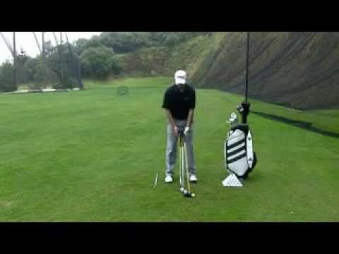 How to Play Golf - Learn basic Golf Techniques - Nicolas Brassart Fundamentals The set up