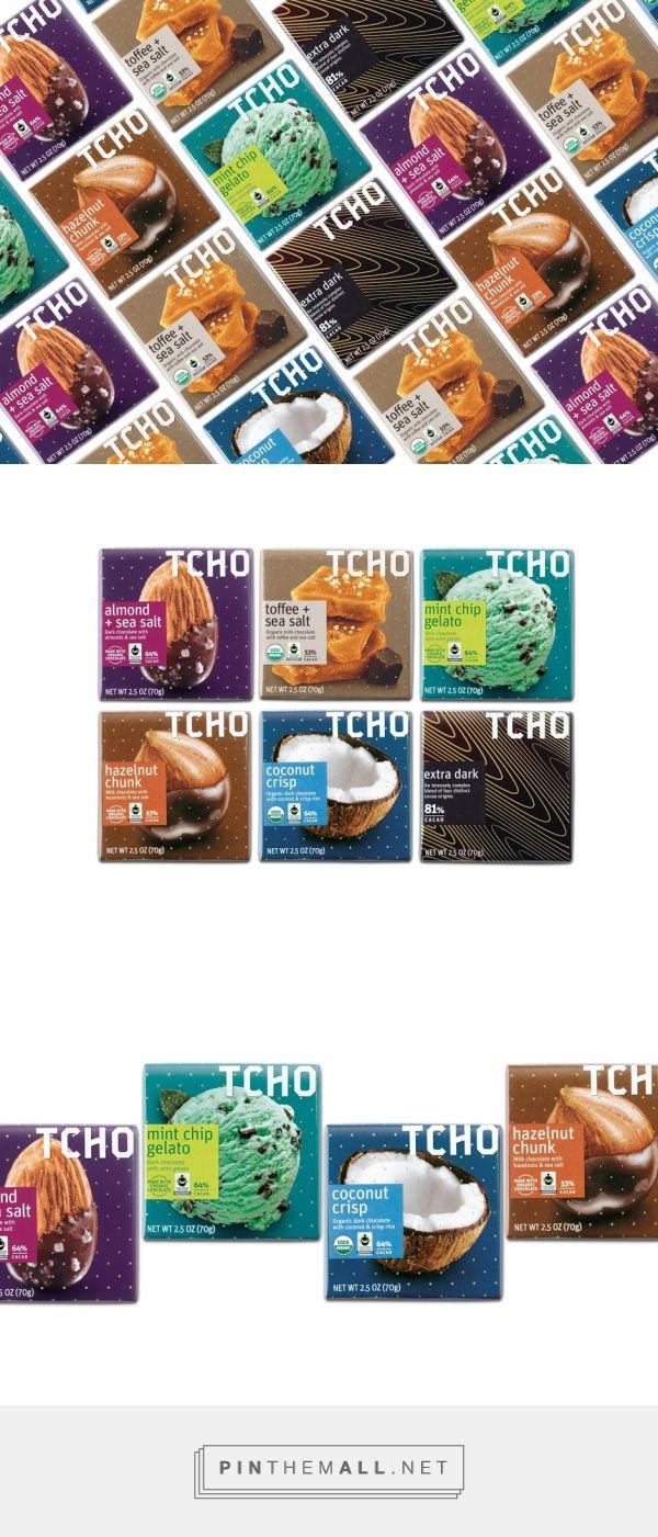 TCHO Chocolate packaging design by bluemarlin - http://www.packagingoftheworld.com/2016/05/tcho-chocolate.html