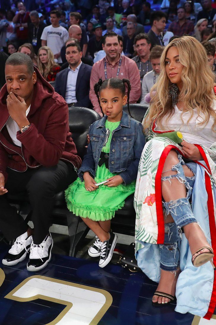 Blue Ivy Might Not Be as Big of a Basketball Fan as Beyoncé and Jay Z